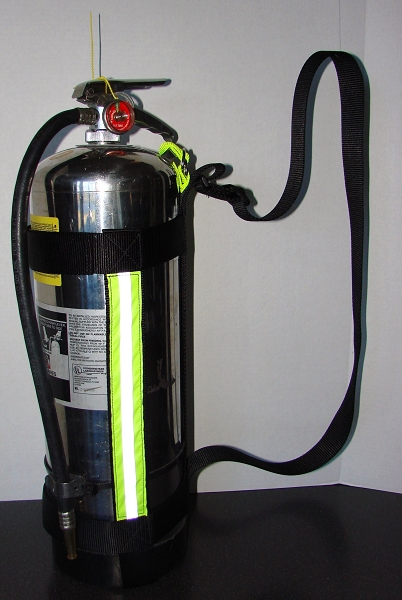 Adjustable Firefighter Water Can Sling Harness
