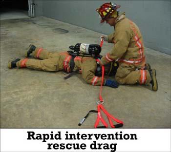 Sav-A-Jake Rapid Intervention Firefighter Rescue Tool - Orange