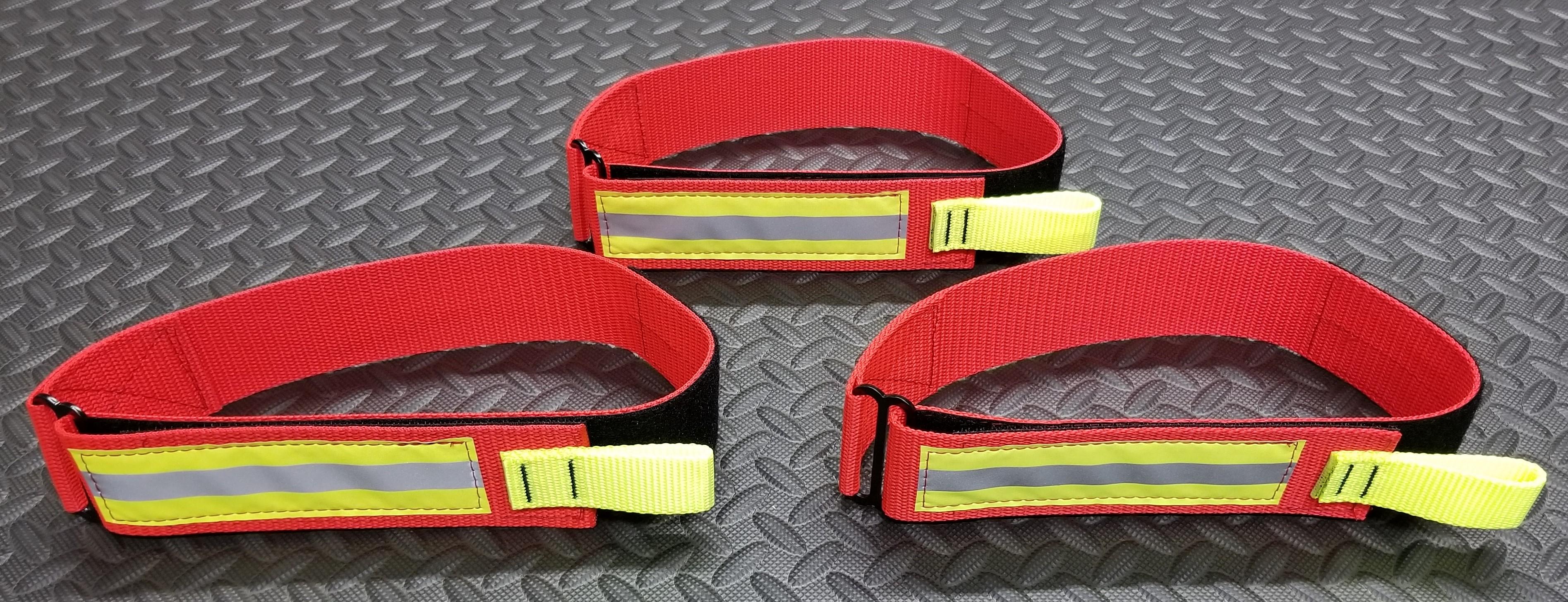 Nylon Webbing 6,000 lb 6 ft Red Firefighter Rescue Strap Sav-A-Jake