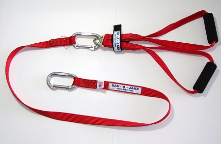 Sav-A-Jake Rapid Intervention Firefighter Rescue Tool - Red