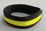 Fire Hose Straps Denver Load/High Rise - Black w/3M Yellow Reflective for 1 3/4