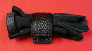 Police Swat Belt Attachment Tactical Basketweave Leather