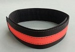 Fire Hose Straps Denver Load/High Rise - Black w/3M Orange Reflective for 2 1/2