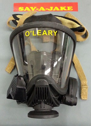 SCBA Firefighter Mask Facepiece Identifiers - for Scott or MSA masks