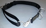 Firefighter Truck/Ladder/Escape Belt - Solid Black
