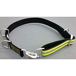 Firefighter Truck/Ladder/Escape Belt - Black w/3M Triple Yellow Reflective Stripe