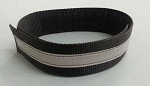 Fire Hose Strap Denver Load/High Rise - Black w/3M Silver Scotchlite for 2