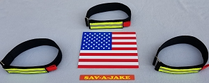 Firefighting Fire Hose Straps Denver Load/High Rise 31 inch strap