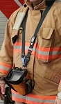 Firefighter Thermal Imager Quick Release Breakaway Camera Strap - KEVLAR - 3M Silver Reflective