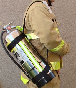 Adjustable Firefighter Water Can Sling/Harness