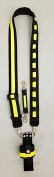 Our strap is made with 7500 lb. ballistic nylon webbing